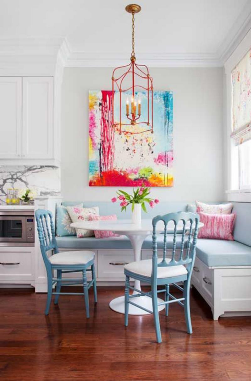 Modern reggeliző szoba